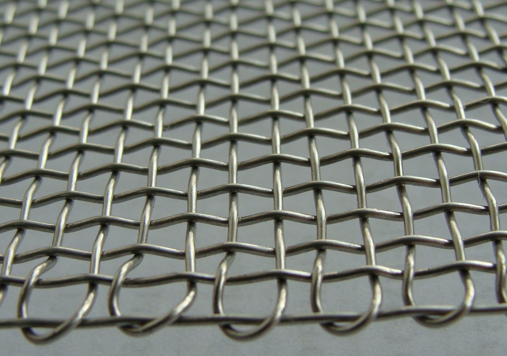 Galvanized square mesh other wire chain link fence
